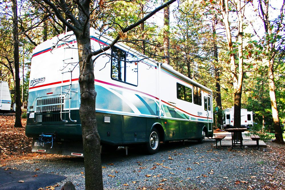 Quail Trails Village's sites will fit any size RV.