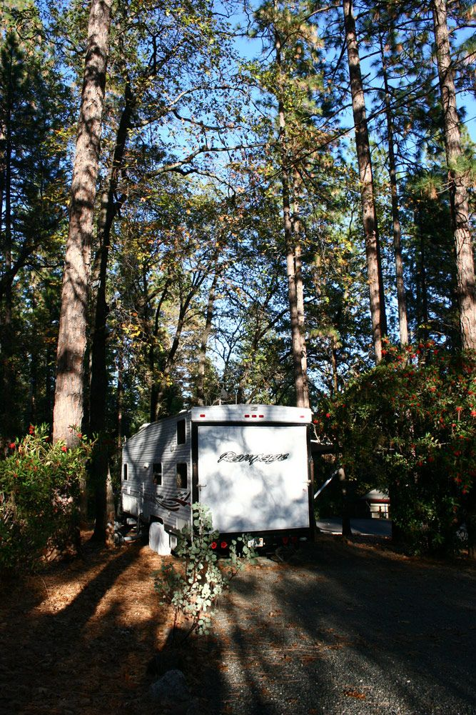 We have room for any size RV at Quail Trails Village RV Park in Paradise, CA.