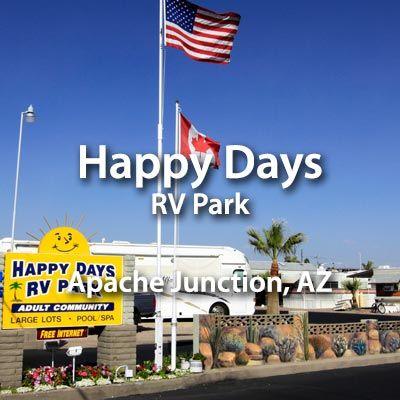 Happy Days RV Park in Apache Junction, AZ