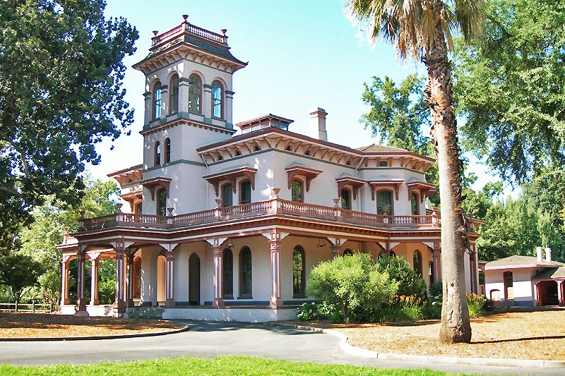 Explore Bidwell Mansion while staying at Quail Trails Village.