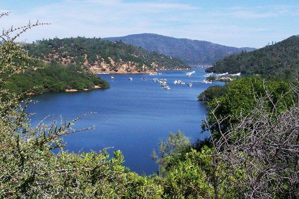 Beautiful marina near Quail Trails Village in Paradise, CA.